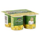 Stonyfield Organic YoBaby Whole Milk Banana & Mango Yogurt, 6 PK