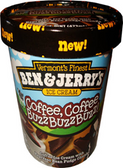 Ben & Jerry's - Coffee, Coffee, Buzz, Buzz, Buzz  -16oz