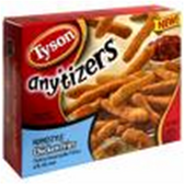 Tyson Frozen Anytizers Homestyle Chicken Fries -10 oz