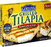 Gorton's Grilled Tilapia - Roasted Garlic & Butter -6.3oz