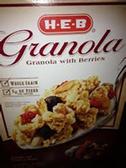Store Brand Granola with Berry -11oz