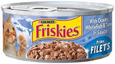 Friskies Cat Food Prime Fillets W/ White Fish Tuna -5.5oz