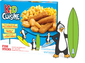 Kid Cuisine - Fish Sticks -1 meal