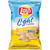 Lay's Light Original Potato Chips -8.5 oz