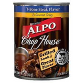Alpo Chop House T-Bone Steak Flavor in Gravy-13oz