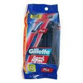Gillette Good News Plus Razors - 12 Count