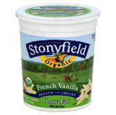 Stonyfield Farm Organic French Vanilla Yogurt