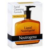 Neutrogena Fragrance Free Liquid Facial Cleansing Soap -8 Fl. Oz