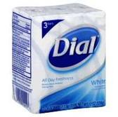 Dial White Bath Bar Soap - 3-4.5 Oz