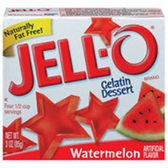 Jell-O Watermelon - 3 oz