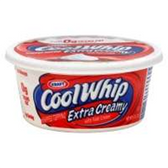 Kraft Cool Whip Extra Creamy Whipped Topping - 8 oz