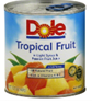 Dole Tropical Fruit, in Light Syrup & Passion Fruit Juice, 15.25