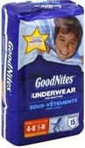 GoodNites 4-8 years -15ct