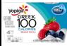 Yoplait Greek 100 Calories Mixed Berry Yogurt, 4 CT