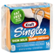 Kraft Singles Nonfat Skim Milk Sharp Cheddar Cheese -16ct