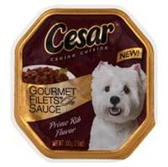 Cesar Prime Rib With Gravy Dog Food - 3.5 Oz