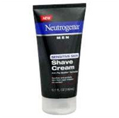 Neutrogena Men Sensitive Skin Shave Cream - 5.1 Fl. Oz.