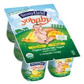 Stonyfield Yobaby Banana Drinkable Yogurt -4pk