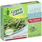Green Giant Simply Steamer No Sauce Green Beans & Almonds-7.5 oz