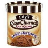 Dreyers/Edys Grand Slow Churned DoubleFudge Brownie IceCream-1.5