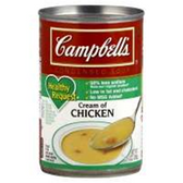 Campbell's HealthyRequest Cream of Chicken Condensed Soup-10.75o