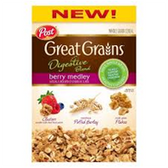 Post Great Grains Digestive Blend Berry Medley-11 oz