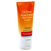 Neutrogena Oil Free Acne Wash Cream Cleanser - 6.7 Fl. Oz.