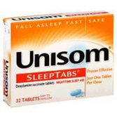 Unisom Sleep Aid Tablets - 32 Count