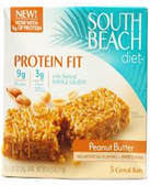 South Beach Good To Go Bars - Peanut Butter -5 bars