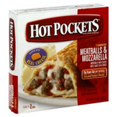 Hot Pockets Frozen Food Meatball and Mozzarella -9oz