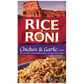 Rice A Roni Chicken & Garlic Mix -4.9 oz