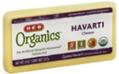 Store Brand Organics Havarti Chunk Cheese -8oz