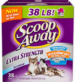 Scoop Away Extra Strength Scented Cat Litter -38oz