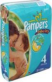 Pamper's Baby Dry 22 - 37 lb. -31ct