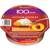 Breakstone 100 Calorie Peach Cottage Doubles - 3.9oz