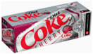 Diet Cherry Coca Cola Fridge -12pk