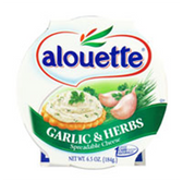 Alouette Garlic & Herb Spreadable Cheese -6.5 oz