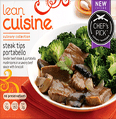 Lean Cuisine - Steak Tips Portobello -1 meal