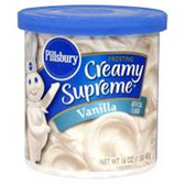 Pillsbury Ready To Serve Vanilla Frosting -16 oz