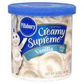 Pillsbury Ready To Serve Vanilla Frosting -16 oz