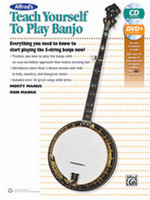 Teach Yourself To Play Banjo - Book, CD & DVD