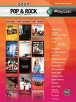 2007 Pop & Rock Sheet Music Playlist
