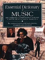 Essential Dictionary of Music (Small Version)