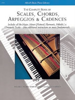 Complete Book of Scales, Chord, Arpeggios and Cadences