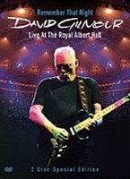 Remember That Night: Live at Royal Albert Hall DVD