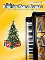 Premier Piano Course: Christmas Book 1B