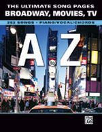 The Ultimate Song Pages: Broadway / Movie / TV