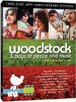 Woodstock 40th Anniversary Edition - 3 days of Peace and Music D