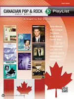 Canadian Pop & Rock Sheet Music Playlist - Easy Piano