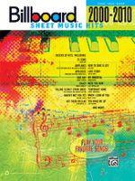 Billboard Sheet Music Hits 2000, 2010